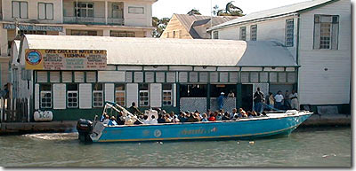 Water Taxi at Belize City